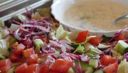 Салат из сырых кабачков, рецепты
