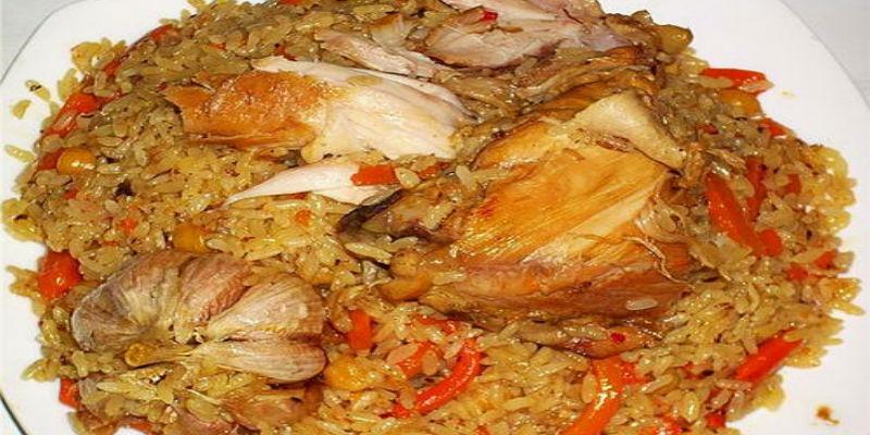 Рецепт плова с курицей пошагово в казане