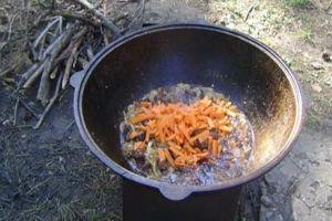 Закладываем морковь