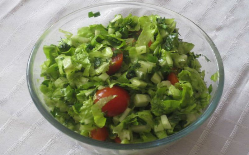 Рецепты простых и вкусных салатов с фото