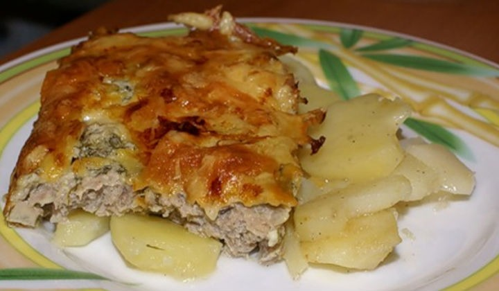 French Meat with Potatoes