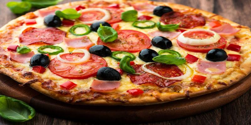 Рецепт теста без дрожжей для пиццы в домашних условиях 8