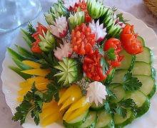 рецепты из овощей на день рождения простые и вкусные