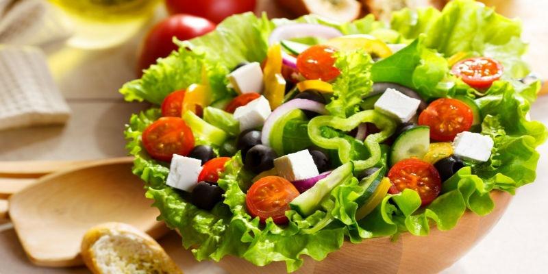 Салаты на день рождения, греческий салат