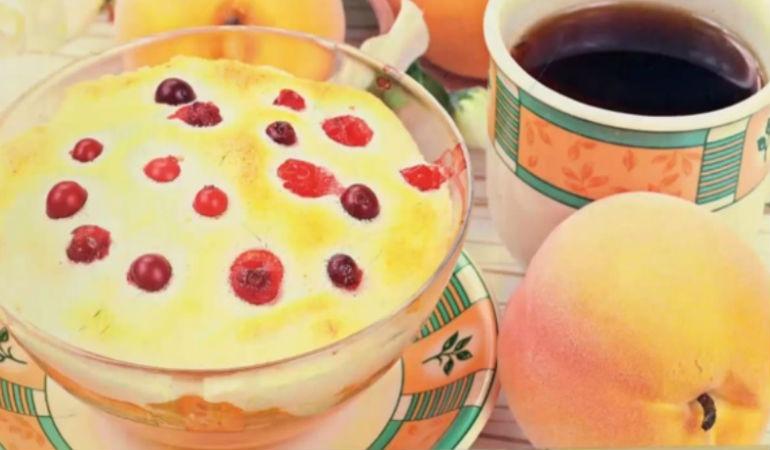 Новогодний абрикосовый десерт