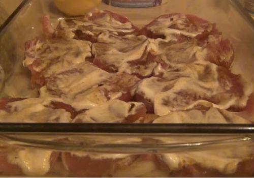 Горячее блюдо из мяса на новый год