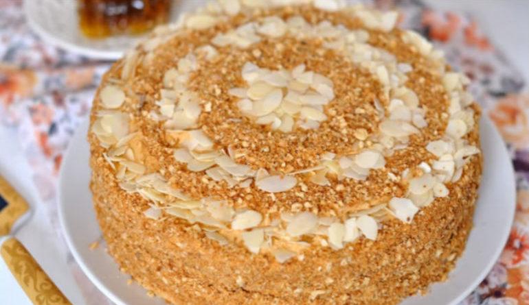 Торт новосибирский рецепт пошагово в домашних условиях