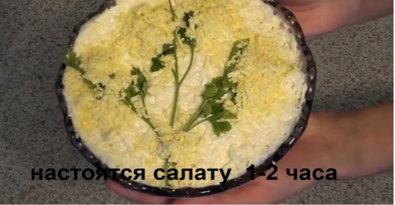 Вкусные и простые салаты