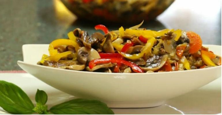 Вкусные простые салаты