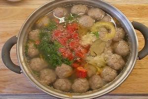 Суп с фрикадельками из фарша рецепт с фото