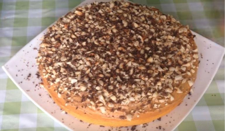 Простой торт в домашних условиях быстро
