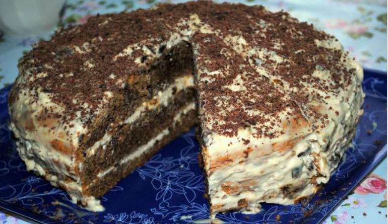 Простые торты в домашних условиях рецепт с фото