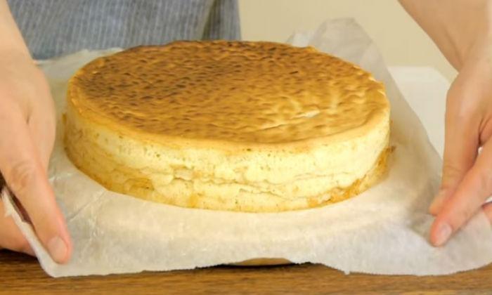 испечённый пирог