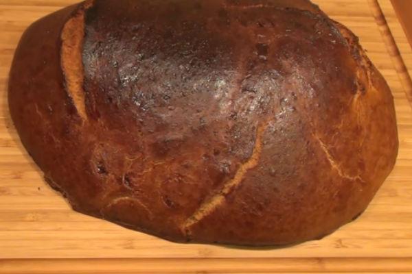 Деревенский хлеб по старинному рецепту