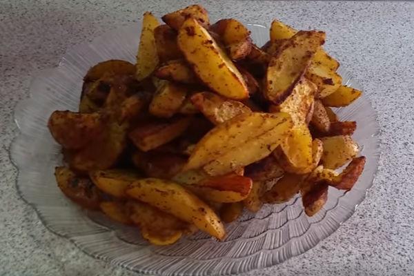 Картофель по деревенски