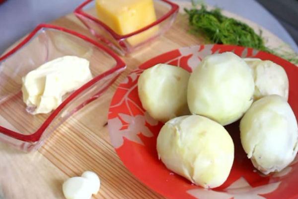 Курица грибы картофель рецепт