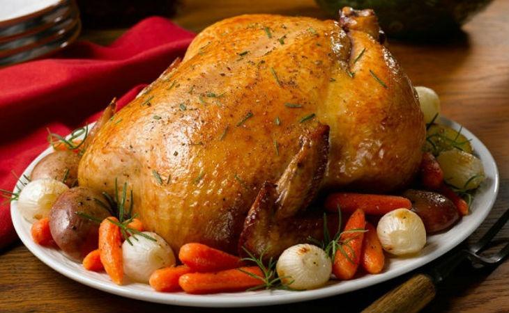 приготовление курицы в духовке простой рецепт