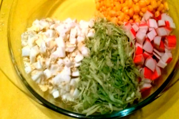 Салат крабовый рецепт с очень вкусный