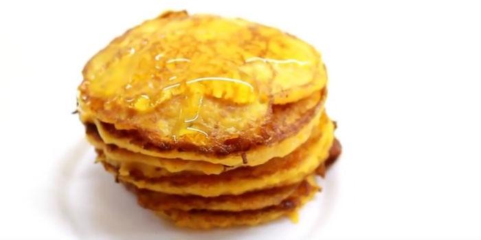 Оладья из тыквы с медом