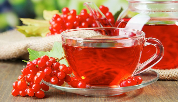 Сок из ягод калины
