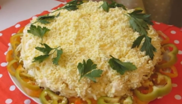 мимоза пошаговый рецепт с фото с сыром