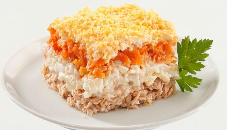 Мимоза с сайрой и сыром рецепт с пошагово 29
