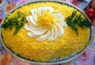Салаты рецепты простые и вкусные мимоза