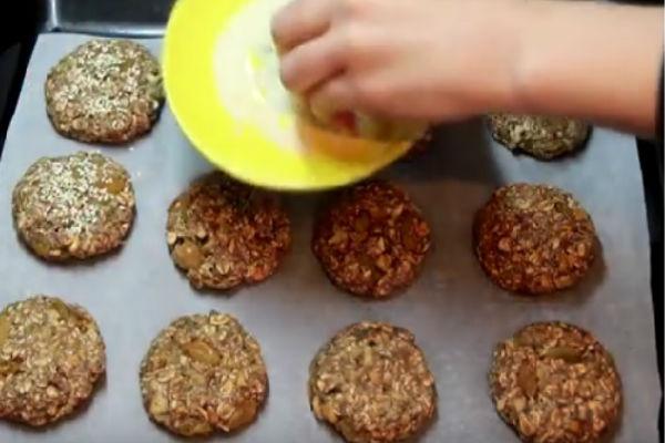 Фото рецепты пошаговые диетическое овсяное печенье