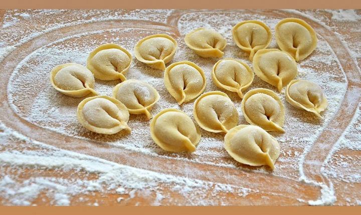 Choux pastry for ravioli