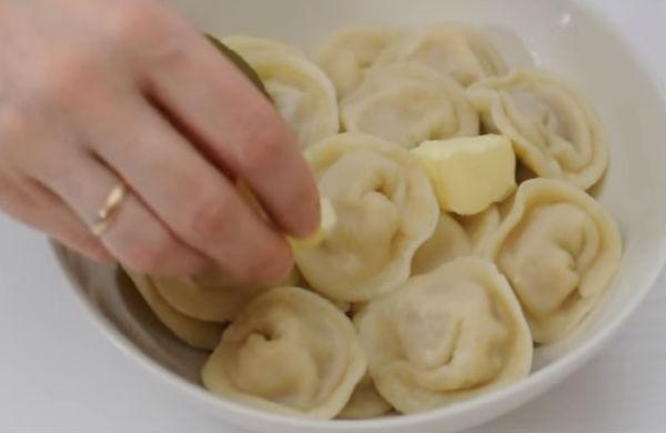 Homemade meat dumplings