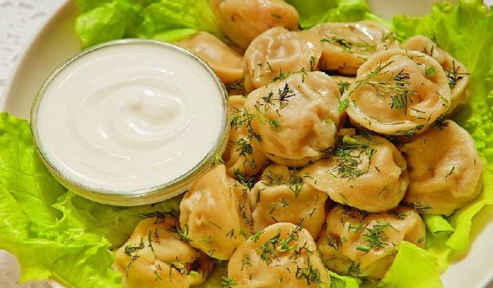 Dumplings from fish