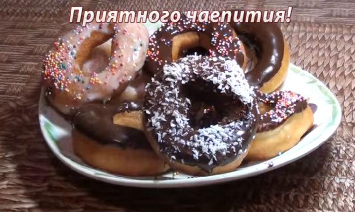 Рецепт пончиков на живых дрожжах в домашних условиях