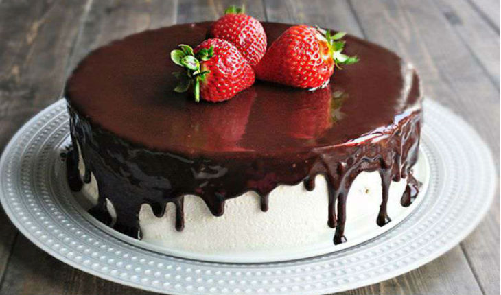 Рецепт красивого торта в домашних условиях