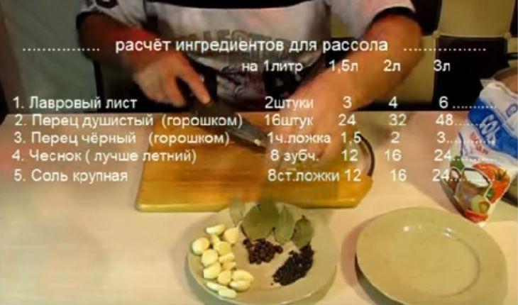Сало солить в рассоле рецепт