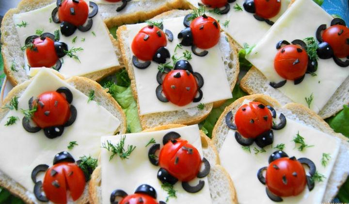 Бутерброд на праздничный стол