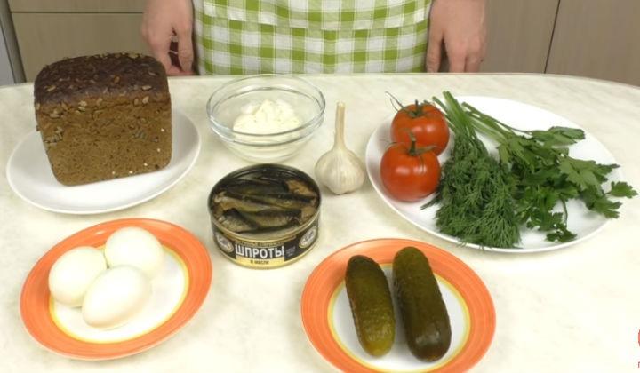 Как сделать бутерброды простые 904