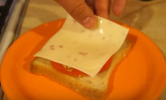 Бутерброд с сладким перцем