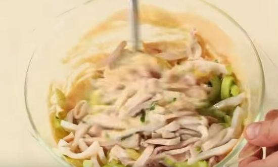 перец добавляем в соус