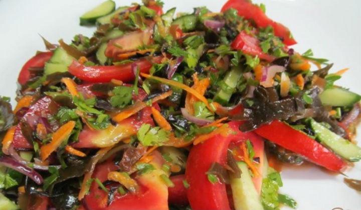 салат с китайской капустой рецепт