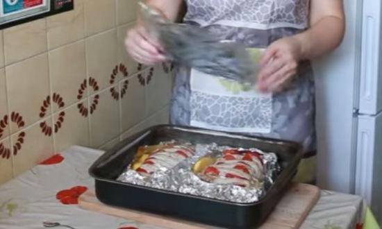 Говяжья вырезка запеченная в фольге  пошаговый рецепт с