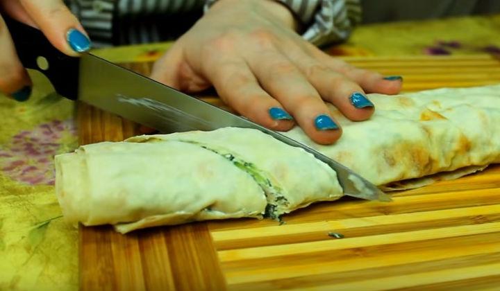 Рецепт приготовления рулета из лаваша пошагово