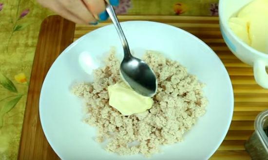 Рецепт начинки для рулета с лавашем