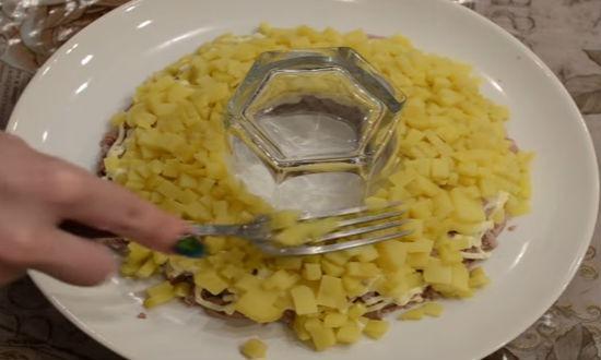салат гранатовый с говядиной пошаговый рецепт
