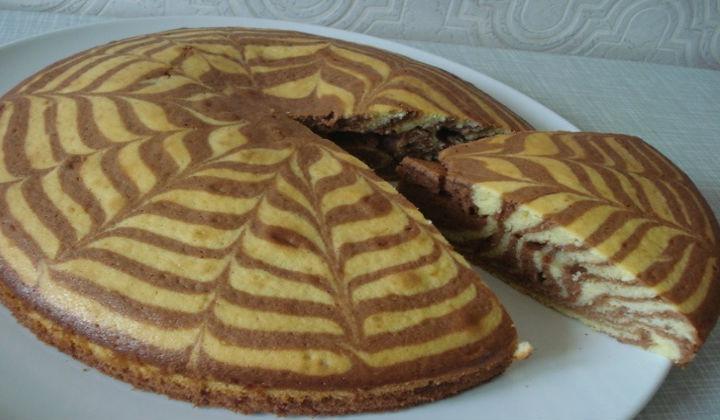 Как приготовить торт зебра в домашних условиях – пошаговый рецепт с фото