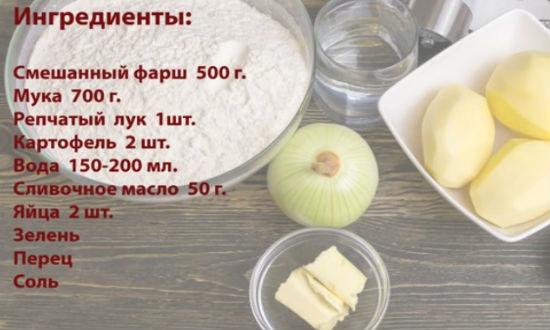 Рецепт теста для мантов