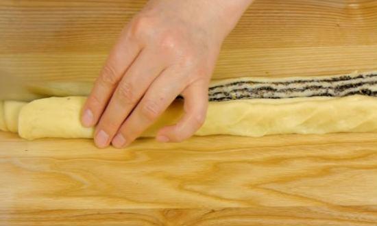 Как приготовить кулич Мраморный