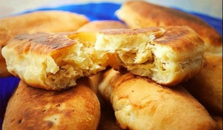 Пирожки с капустой в духовке и жареные на сковороде. Очень вкусные рецепты с фото