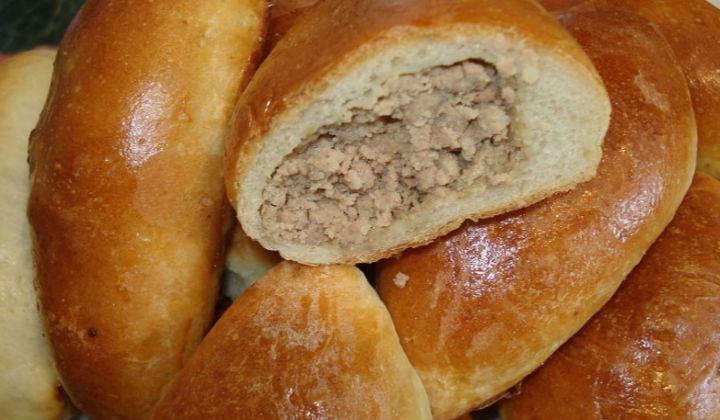 Пирожки с мясом из дрожжевого слоеного теста рецепты 76
