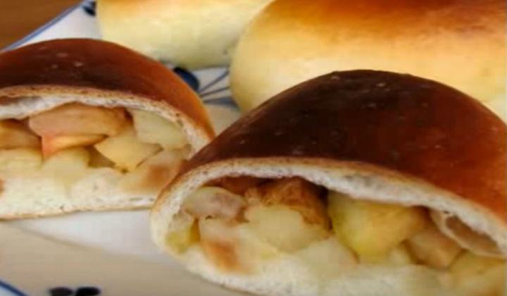 Пирожки с яблоками рецепт