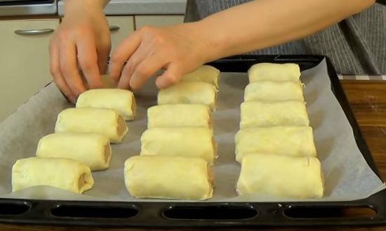 Рецепт пирожков с мясом на